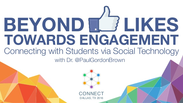 beyond-likes-towards-engagement-connecting-with-students-via-social-technology-1-638