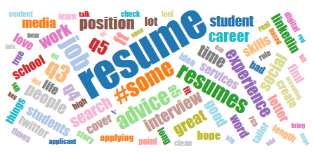 Top Tips From #SAchat On Preparing Your Resume For A #StudentAffairs  #SAsearch