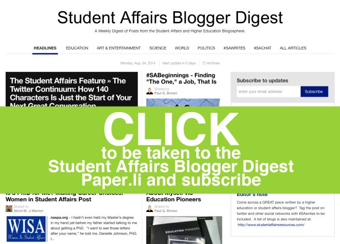 Blogger Digest
