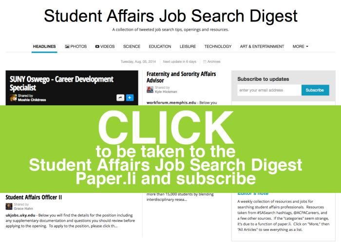 job search digest