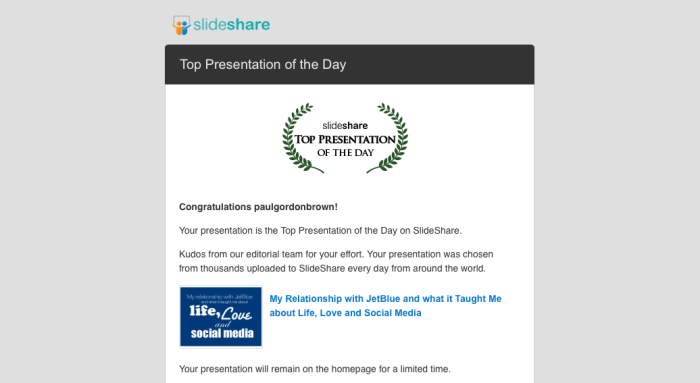 Slideshare of the day