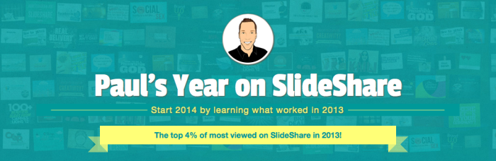 SlideShare2013Review1