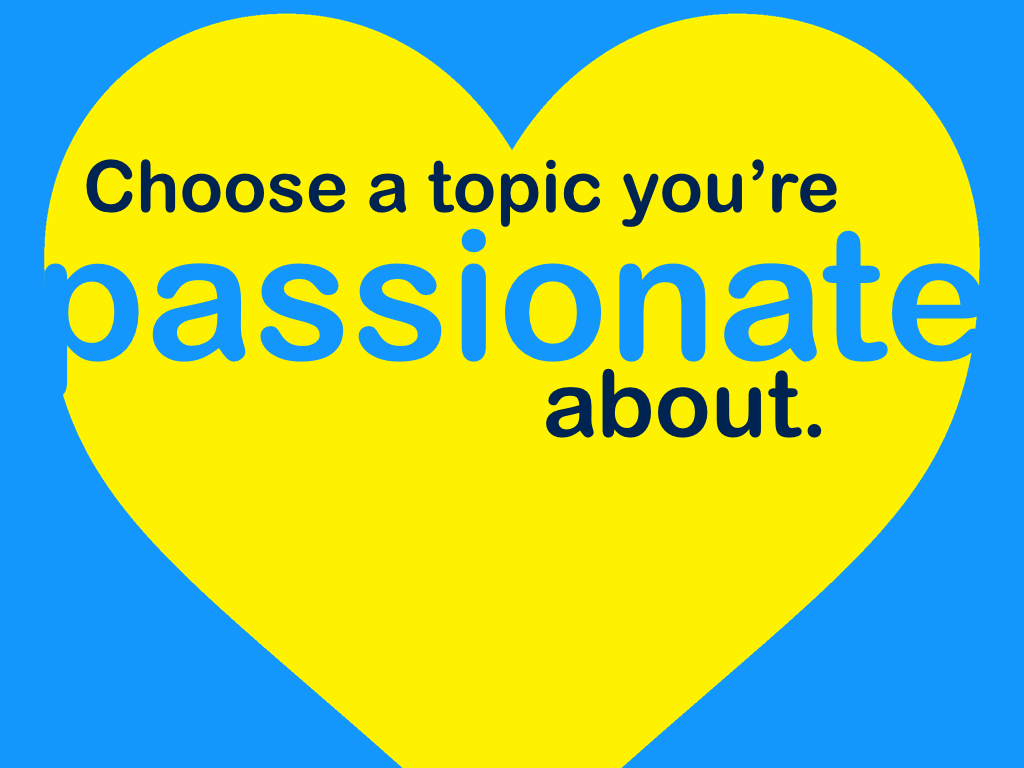 your ultimate guide to giving pechakucha presentations choose a topic you re passionate about
