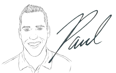 Signature with caricuture
