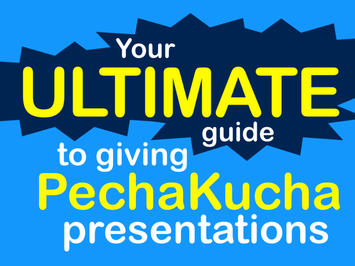 your ultimate guide to giving pechakucha presentations, Presentation templates