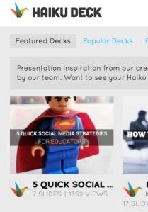 HaikuDeck Featured