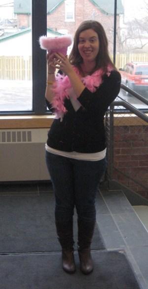 Pink Fundraising - UOIT 2011