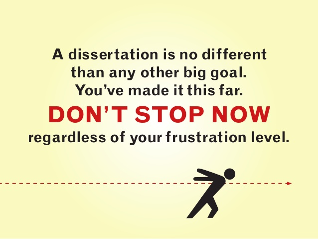 finishing dissertation quotes
