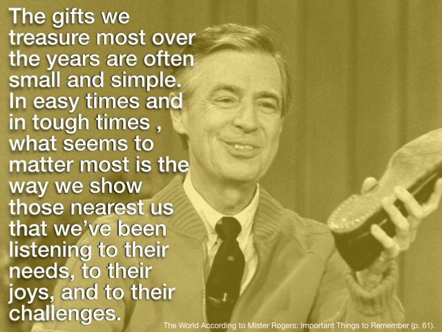8 Inspiring Quotes From Mister Rogers For Thanksgiving Pb